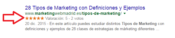rich snippets mejora ctr