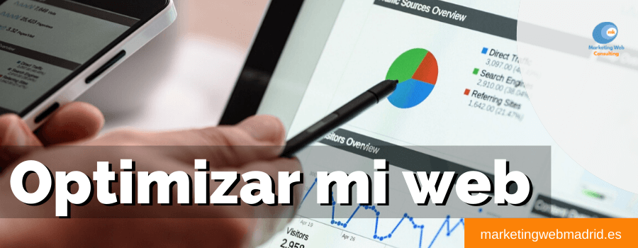 Optimizar mi web